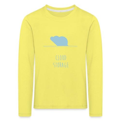 Cloud Storage - Kinder Premium Langarmshirt