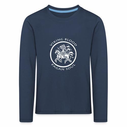 viking blood - Camiseta de manga larga premium niño