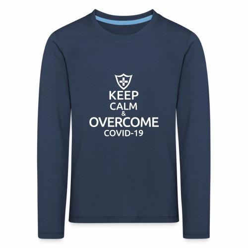 Keep calm and overcome - Koszulka dziecięca Premium z długim rękawem
