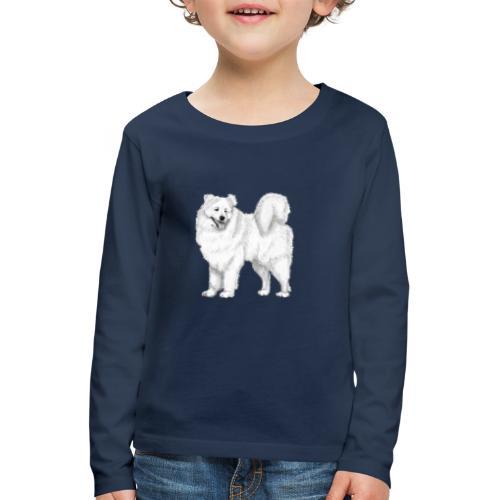 samoyed - Børne premium T-shirt med lange ærmer