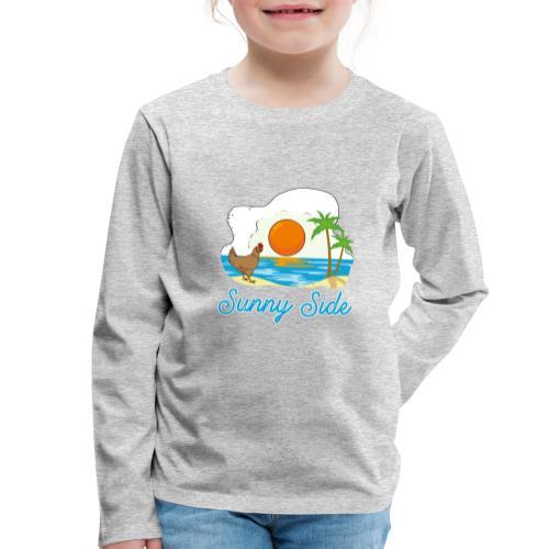 Sunny side - Maglietta Premium a manica lunga per bambini