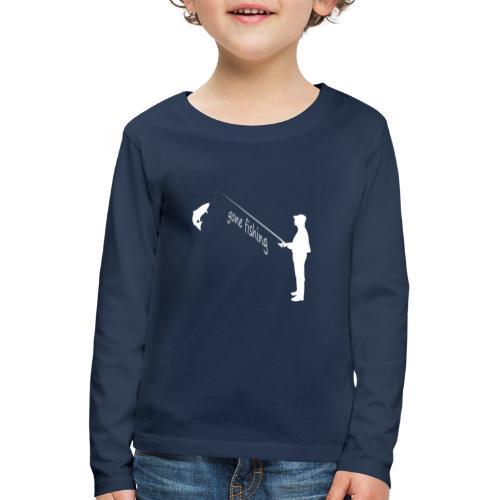 gone fishing - Kinder Premium Langarmshirt