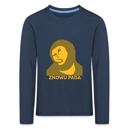 Znowu pada Jeżus z Borja - Koszulka dziecięca Premium z długim rękawem