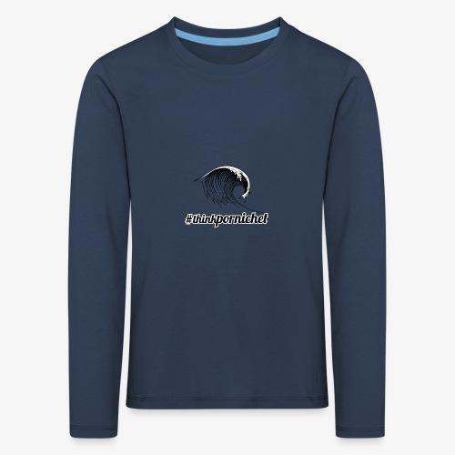 Vague Wave Thinkpornichet by DesignTouch - T-shirt manches longues Premium Enfant