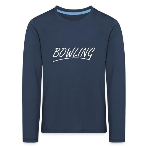 Bowling souligné - T-shirt manches longues Premium Enfant