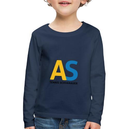 as logo - Maglietta Premium a manica lunga per bambini