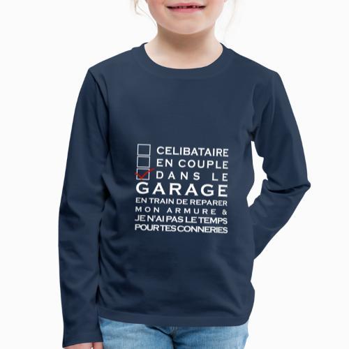 Celibataire en couple etc - T-shirt manches longues Premium Enfant