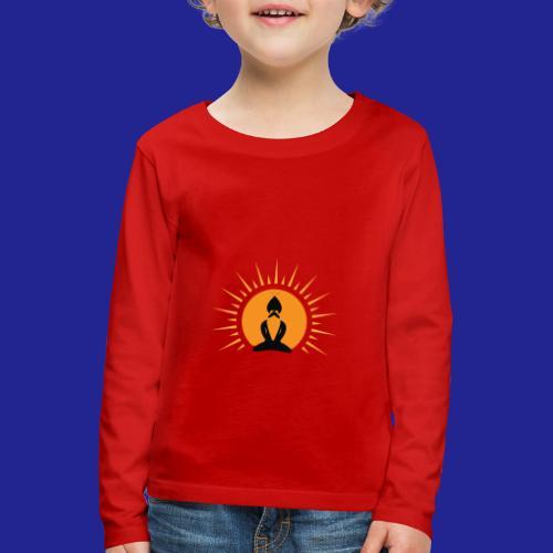 Guramylyfe logo no text black - Kids' Premium Longsleeve Shirt