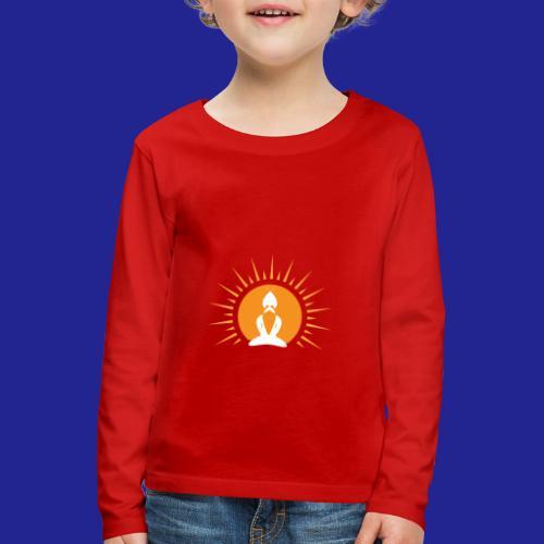 Guramylyfe logo white no text - Kids' Premium Longsleeve Shirt