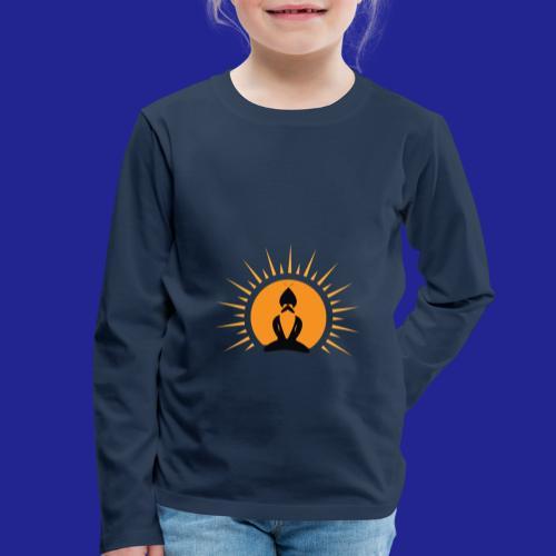 Guramylife logo black - Kids' Premium Longsleeve Shirt