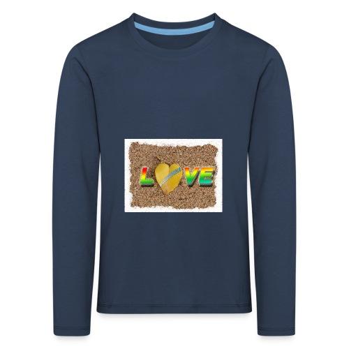 love,madinina - T-shirt manches longues Premium Enfant