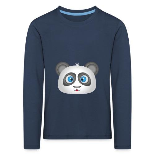 panda head / cabeza de panda 2 - Camiseta de manga larga premium niño