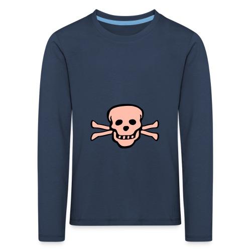 skull tattoo style - Kinder Premium Langarmshirt