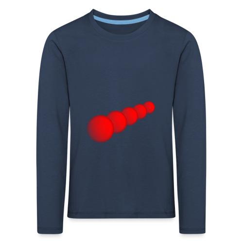 Rote Kugeln - Kinder Premium Langarmshirt