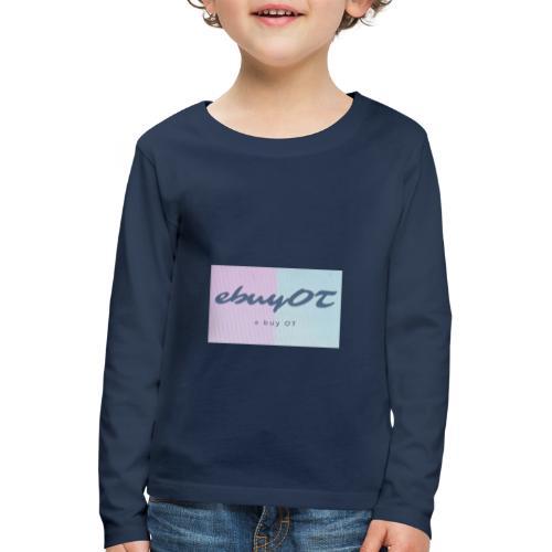 ebuyot - Maglietta Premium a manica lunga per bambini