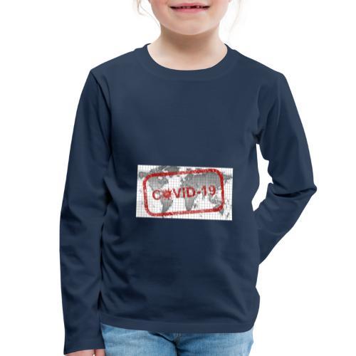 covid 19 - Kinder Premium Langarmshirt