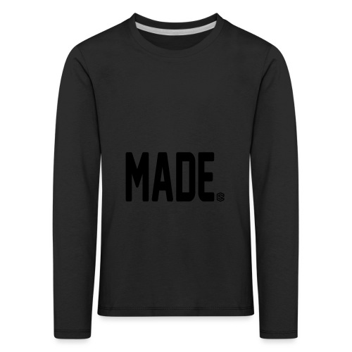 madesc - Långärmad premium-T-shirt barn