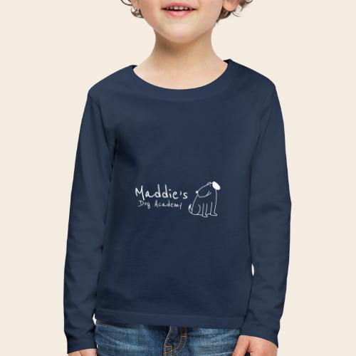 Académie des chiens de Maddie (blanc) - T-shirt manches longues Premium Enfant