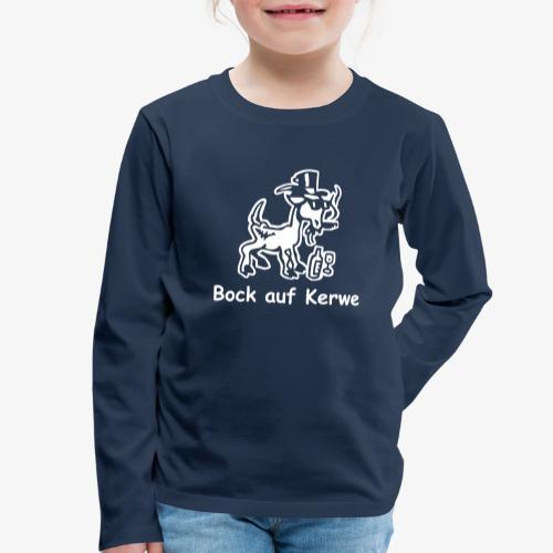 Bock auf Kerwe - Kinder Premium Langarmshirt