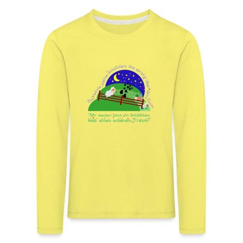 Schäfchen - Kinder Premium Langarmshirt
