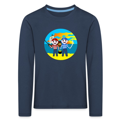 Piratenkinder-T-Shirt für Nachwuchspiraten - Kinder Premium Langarmshirt