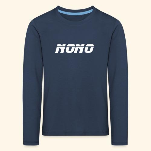 NONO - Børne premium T-shirt med lange ærmer