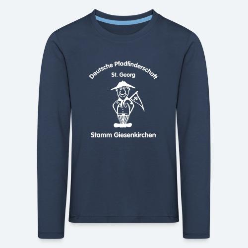 Logo_DPSG_Stamm_Giesenkir - Kinder Premium Langarmshirt
