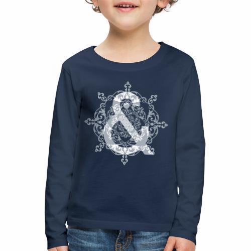 Escudo dark grey & ... - Camiseta de manga larga premium niño