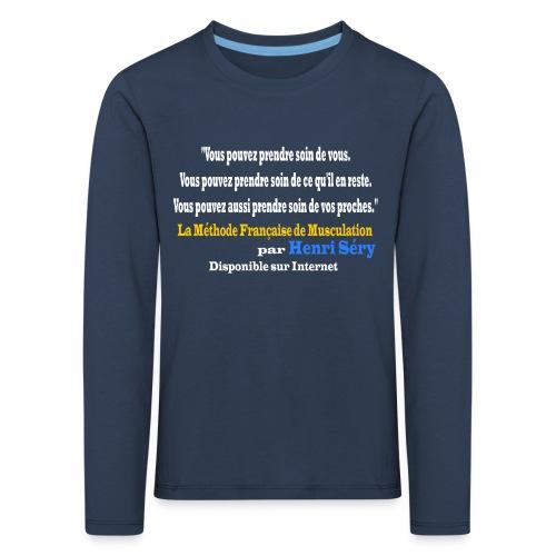 LMF Sante v2 - T-shirt manches longues Premium Enfant