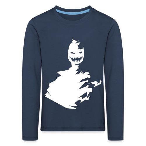 t-shirt monster (white/weiß) - Kinder Premium Langarmshirt