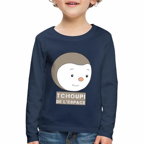 Tchoupi de l'Espace ! - T-shirt manches longues Premium Enfant