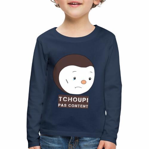 Tchoupi pas content ! - T-shirt manches longues Premium Enfant