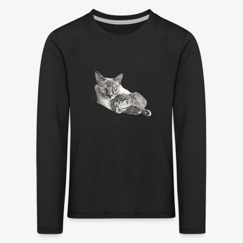 Snow and her baby - Kids' Premium Longsleeve Shirt