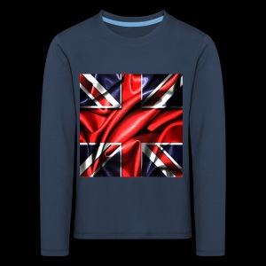 Union Jack design - Kids' Premium Longsleeve Shirt