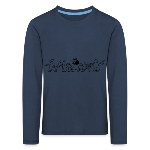 animals - Kinder Premium Langarmshirt