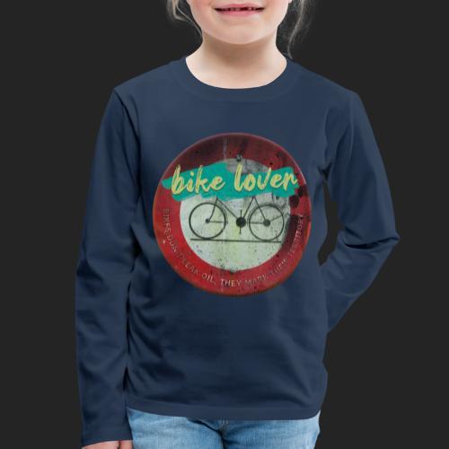 Bike lover - T-shirt manches longues Premium Enfant