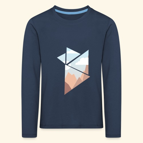 shattered - Långärmad premium-T-shirt barn