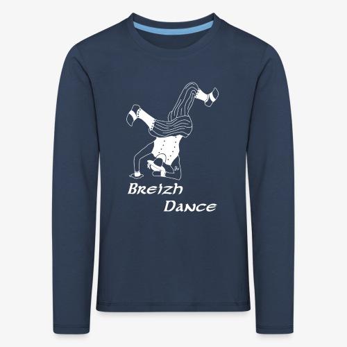 BZH Atypik Design - Breizh Dancer - T-shirt manches longues Premium Enfant