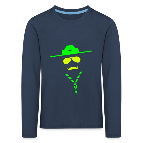 moustache - Kids' Premium Longsleeve Shirt