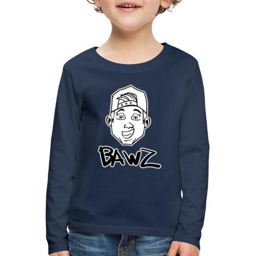 Bawz gezicht - Kinderen Premium shirt met lange mouwen