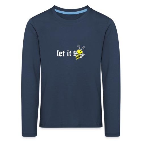 let it bee - Kinder Premium Langarmshirt