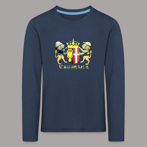 Neuss am Rhein - Kinder Premium Langarmshirt