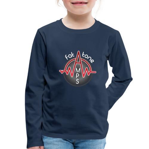 Fat Tone Amps logo - Kids' Premium Longsleeve Shirt