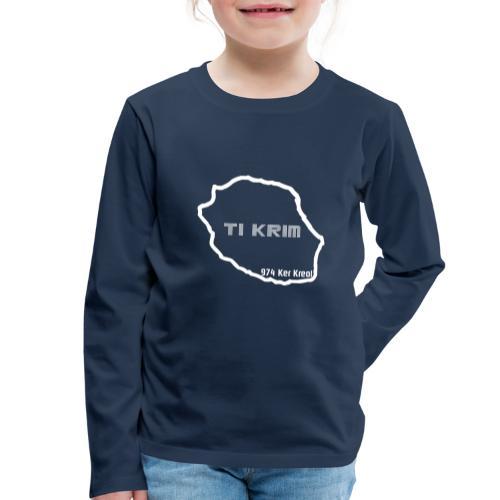 Ti krim - blanc - T-shirt manches longues Premium Enfant