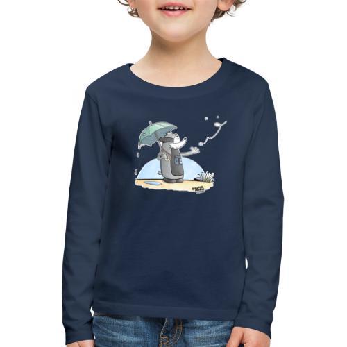 Snowflake - Premium langermet T-skjorte for barn