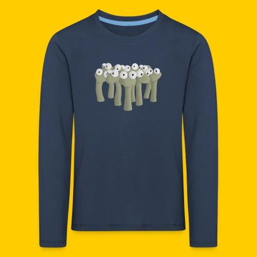 Worm gathering - Långärmad premium-T-shirt barn