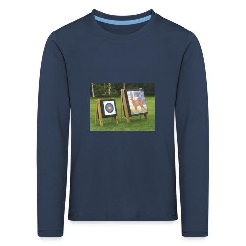 7EE4ABA5 03CC 4458 8D34 B019DF4DD5F1 - Premium langermet T-skjorte for barn
