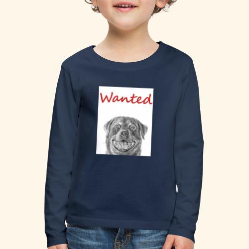 WANTED Rottweiler - Kids' Premium Longsleeve Shirt