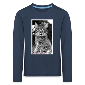 Tiger-Tom - Kinder Premium Langarmshirt