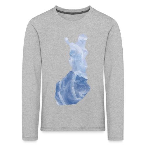 Suomi Finland - Lasten premium pitkähihainen t-paita